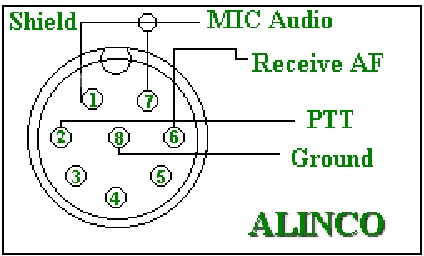 kc9jum s old alinco shrine rh inrd gotdns com alinco microphone wiring alinco microphone wiring